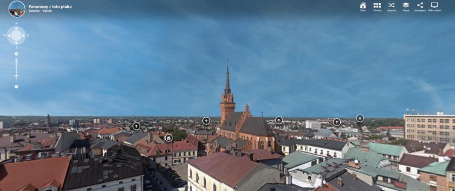 Miasto Tarnów. TURYSTYCZNE ATRAKCJE DOSTĘPNE WIRTUALNIE