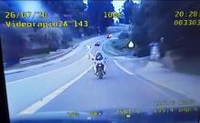 Pościg za motocyklistą drogą wojewódzką 977, zakończony blokadą w Tuchowie
