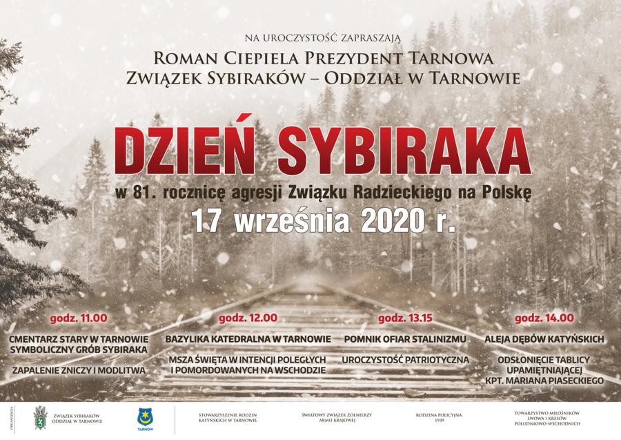 Miasto Tarnów. ZBLIŻAJĄ SIĘ OBCHODY DNIA SYBIRAKA