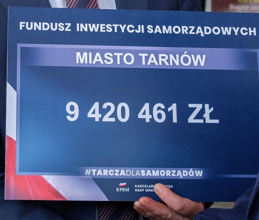 Miasto Tarnów. 9 MLN 400 TYS. ZŁ UZUPEŁNI ZMNIEJSZONE WPŁYWY DO MIEJSKIEGO BUDŻETU