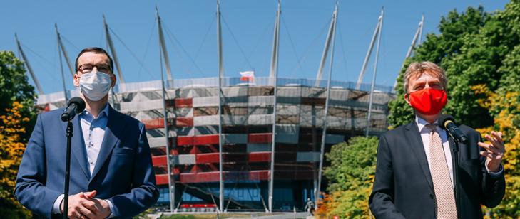 Premier: Od 19 czerwca częściowo otwieramy stadiony piłkarskie