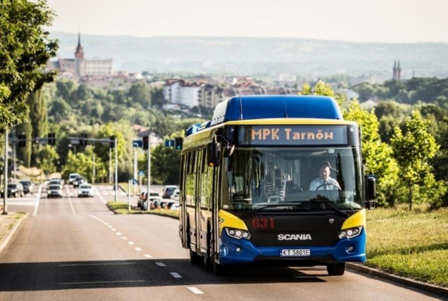 Miasto Tarnów. PIĘĆ NOWYCH AUTOBUSÓW DLA MPK