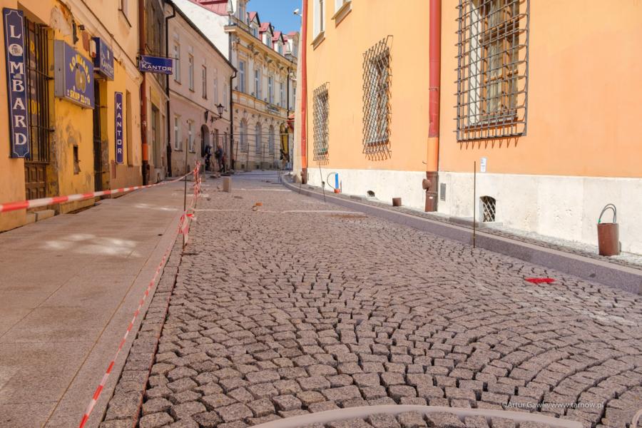 Miasto Tarnów. NIEDŁUGO KONIEC REMONTU UL. KRÓTKIEJ