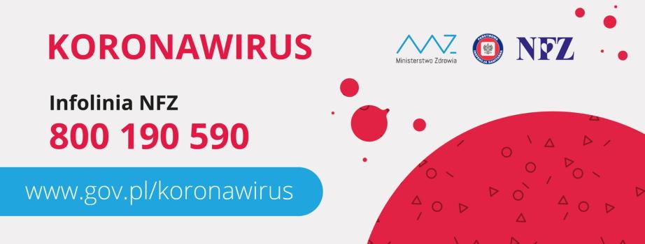 Koronawirus: informacje i zalecenia