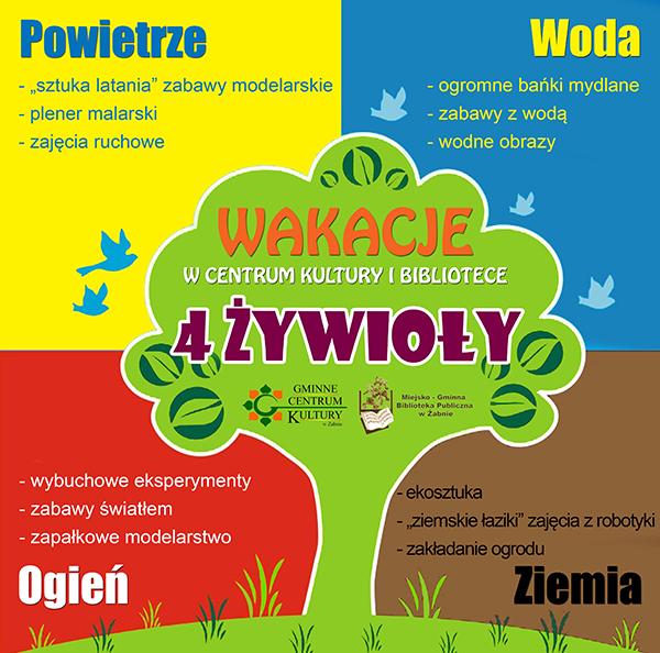 Gmina Żabno. Zajęcia wakacyjne w Centrum Kultury
