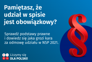 Gmina Wojnicz. Nie można odmówić rachmistrzowi przekazania danych w ramach NSP 2021