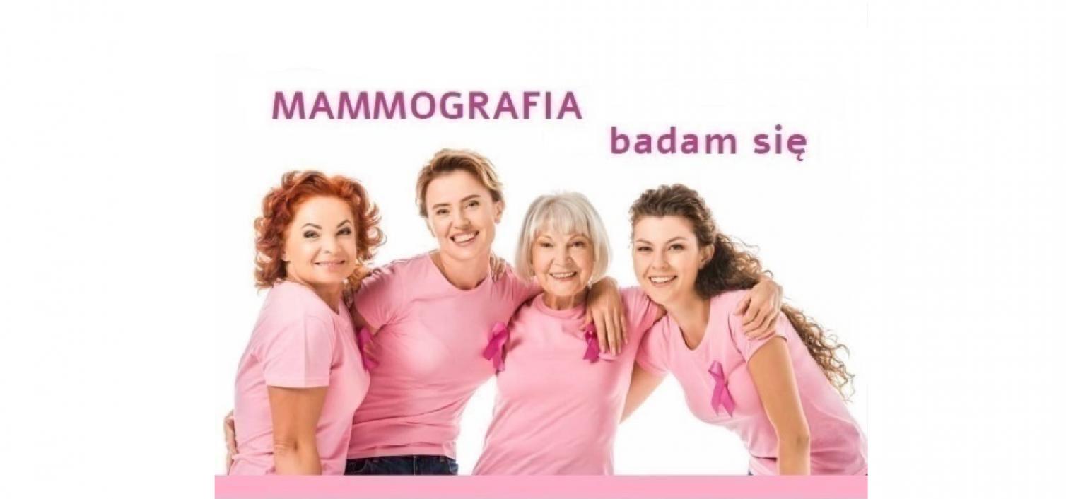 Gmina Skrzyszów. Bezpłatne badania mammograficzne oraz spotkanie edukacyjne
