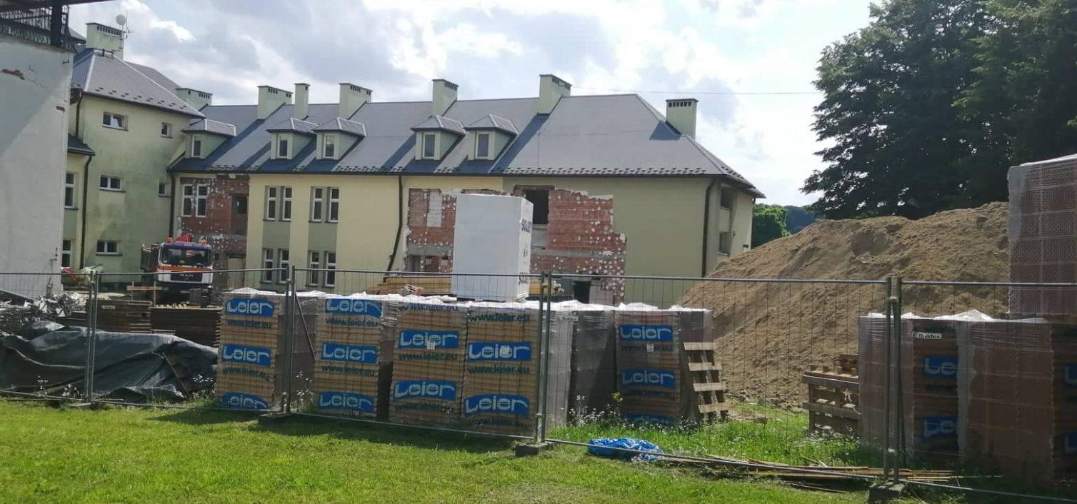 Gmina Skrzyszów. Trwają prace przy budowie przedszkola w Skrzyszowie