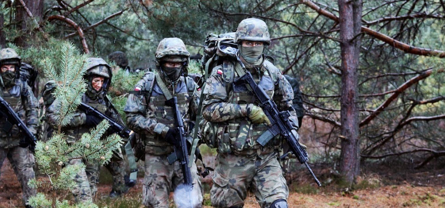 Gmina Skrzyszów. Nie bój się mierzyć wyżej! Małopolscy Terytorialsi wznowili nabór i szkolenie