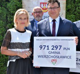 Gmina Wierzchosławice. Blisko milion złotych dla gminy Wierzchosławice