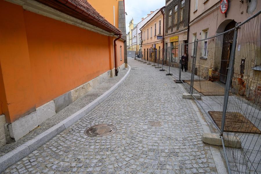 Miasto Tarnów. ZAKOŃCZYŁ SIĘ REMONT ULICY KRÓTKIEJ