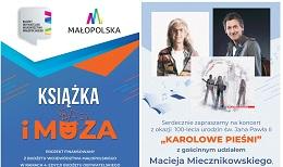 """Gmina Żabno. """"Karolowe Pieśni"""" z Maciejem Miecznikowskim"""