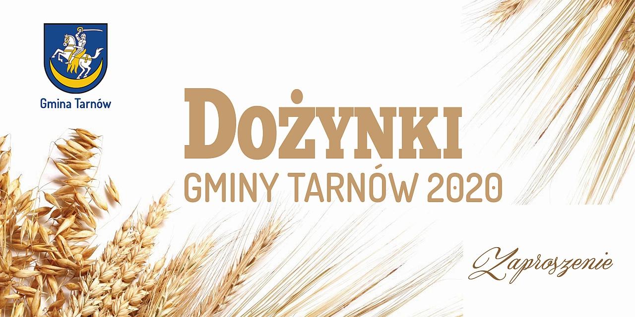 Gmina Tarnów. Dożynki Gminy Tarnów 2020 ONLINE