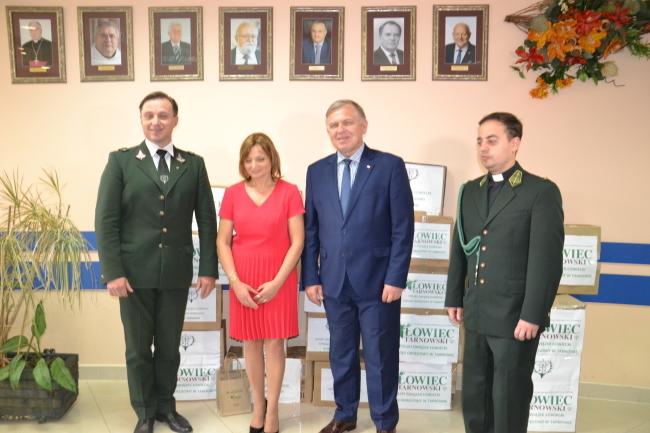 15. tysięcy maseczek dla DPS–ów z terenu powiatu tarnowskiego