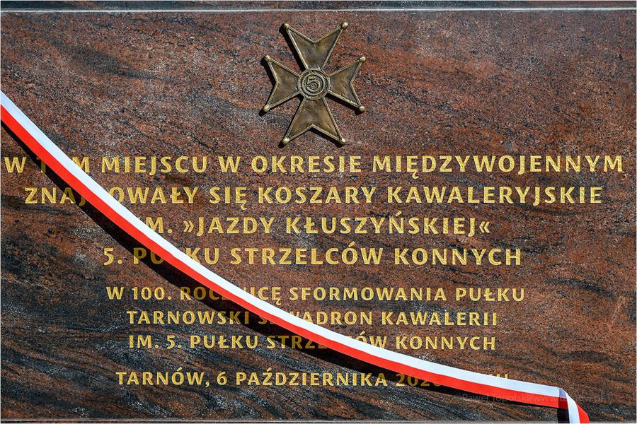 """Miasto Tarnów. """"HEJ STRZELCY WRAZ! POD NAMI RĄCZE KONIE"""
