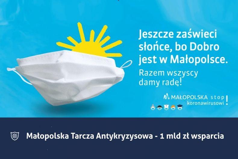 Jeszcze zaświeci słońce, bo Dobro jest w Małopolsce!