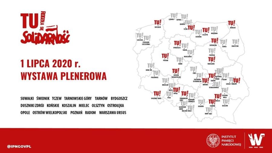 Miasto Tarnów. TU RODZIŁA SIĘ SOLIDARNOŚĆ