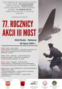"""Powiat tarnowski. 77. rocznica Akcji """"III Most"""""""