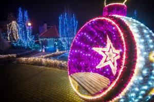 Gmina Tarnów. Bożonarodzeniowe miasteczko w Koszycach Wielkich, czyli świąteczny prezent dla mieszkańców od gminy Tarnów