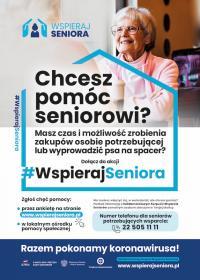 """Gmina Lisia Góra. """"Wspieraj Seniora"""""""